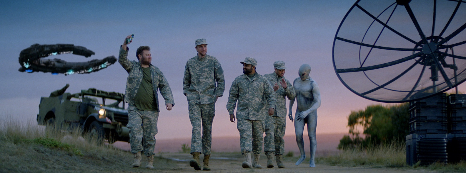 Sportsbet launches Bet With Mates amid an alien invasion in latest campaign via Palomina
