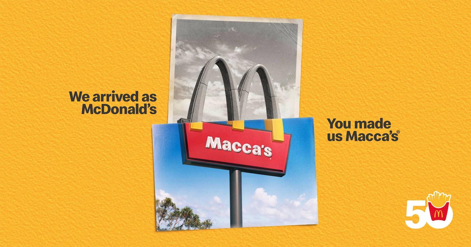Macca's celebrates unique traditions in new 50th Australian Birthday campaign via DDB Sydney