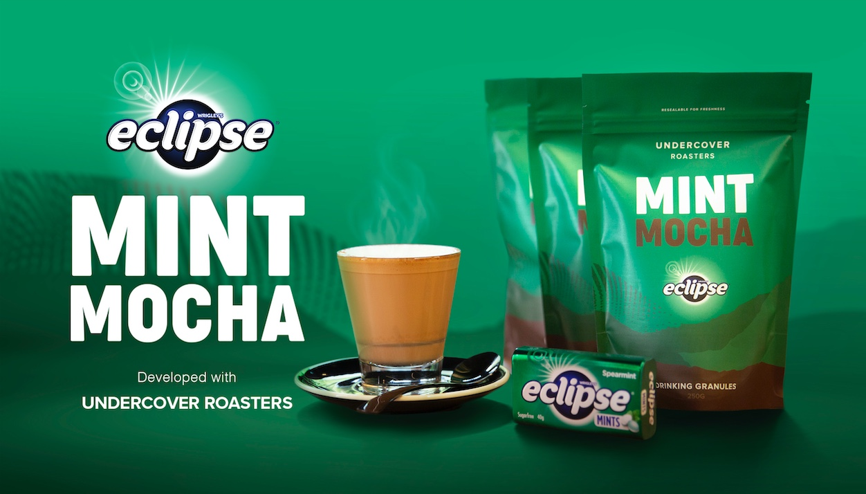 Mars Wrigley's and Undercover Roasters unveil the ECLIPSE Mint Mocha via Thinkerbell