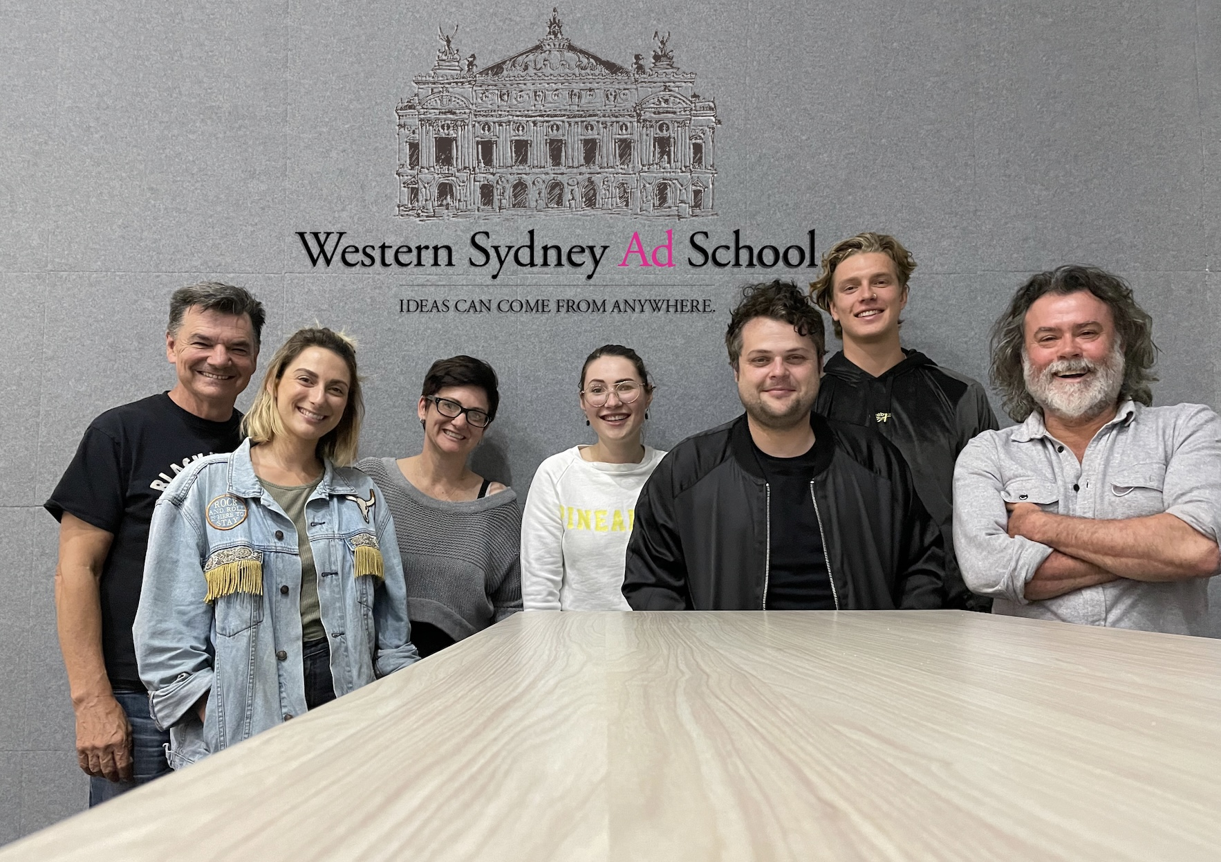 Top agencies come together to support Western Sydney Ad School students with internships
