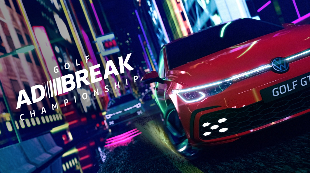 Volkswagen hacks the ad break with mobile racing game for new Golf via DDB Group Sydney