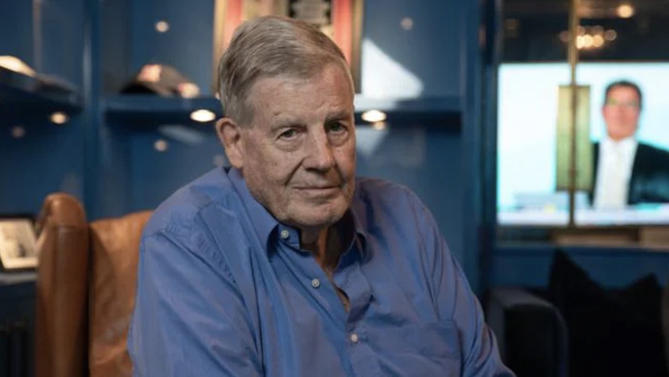 """Vale legendary Australian TV executive David Leckie: """"He had a magnificent grasp of television and what people wanted to enjoy"""""""