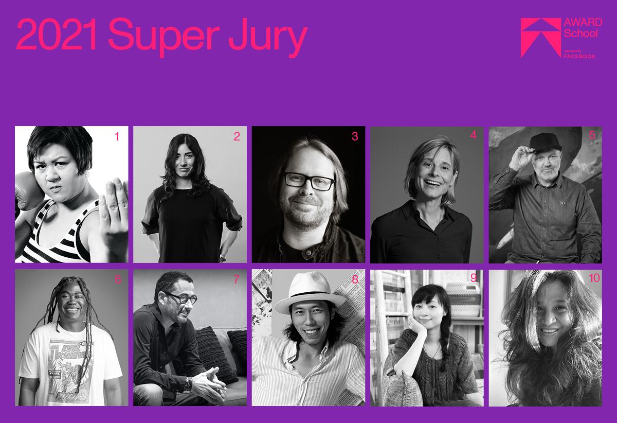 AWARD School announces 2021 Super Jury