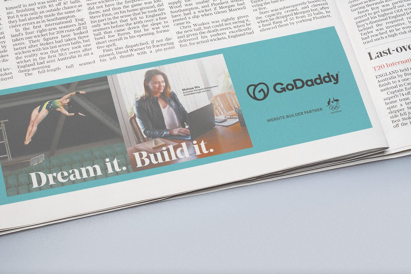 GoDaddy inspires Aussie entrepreneurs in 'Dream It. Build It.' campaign via Silverspell and Bashful