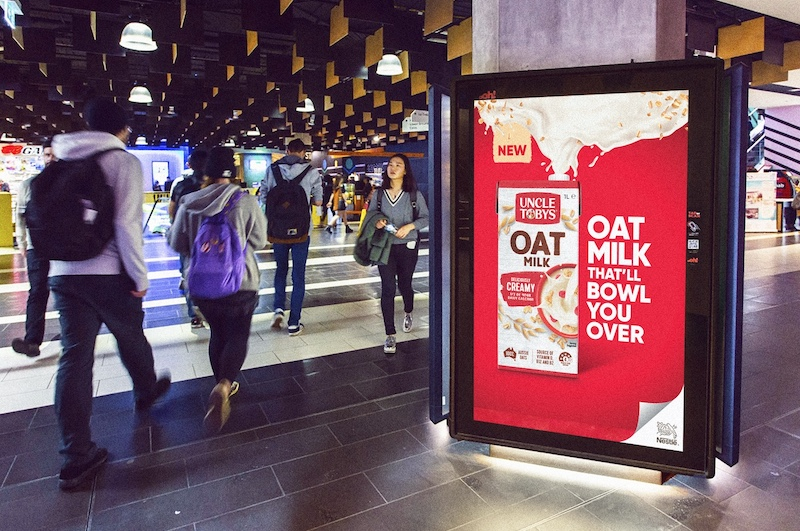 Uncle Tobys enters plant-based milk category with Oat Milk campaign via Connecting Plots