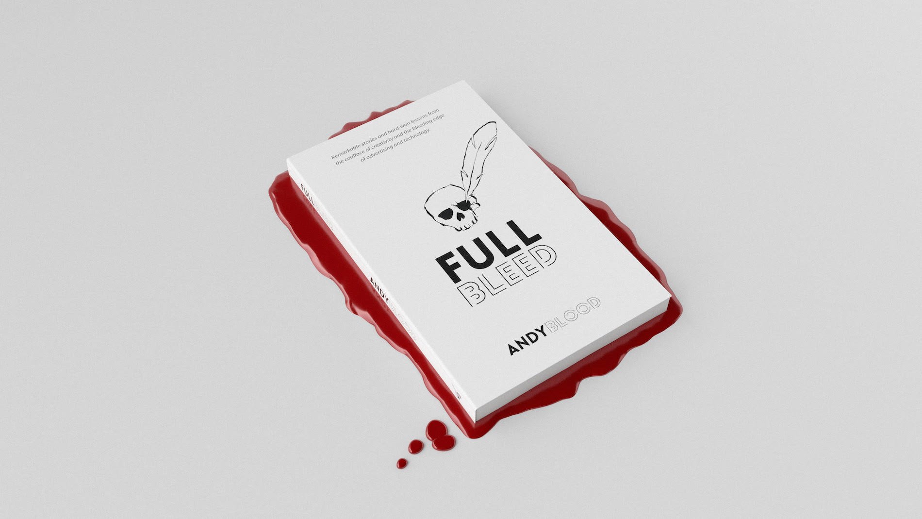 After five years with Facebook Andy Blood departs and launches new book 'Full Bleed'