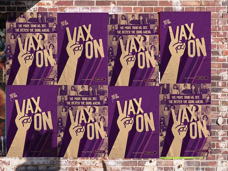 Vax On, but not off: Indie agency Balance funds new vaccination campaign to under 30's group