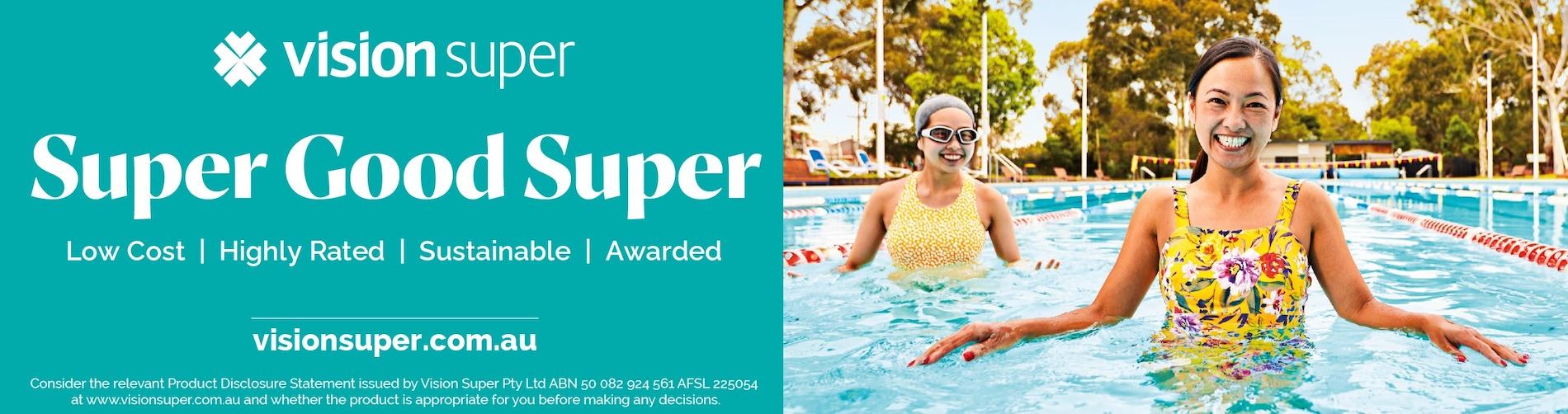 Vision Super launches new 'Super Good Super' campaign via The Fuel Agency, Melbourne