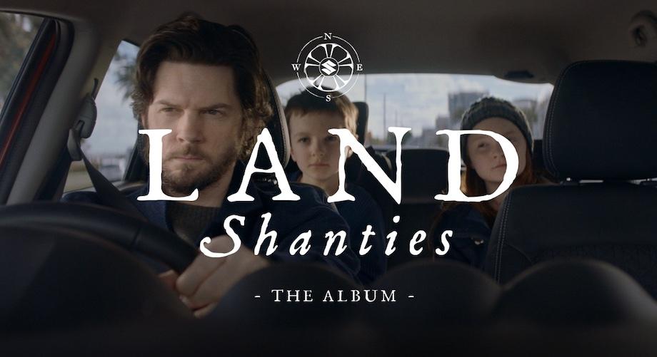Suzuki launches album of 'Land Shanties' to promote the Vitara via Deloitte Digital