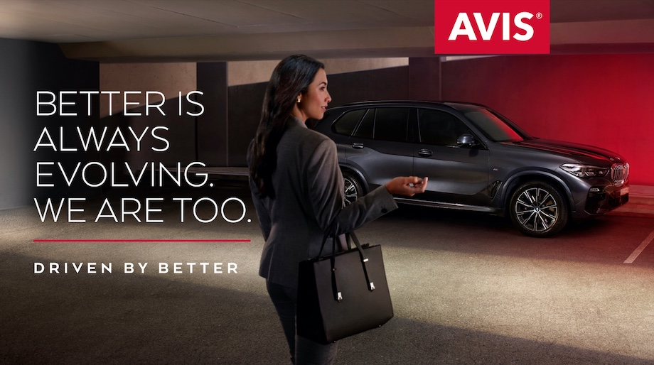 Avis launches new 'Driven By Better' brand platform via Host/Havas