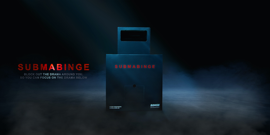 BINGE launches the SUBMABINGE: An at-home submarine viewing experience via Thinkerbell