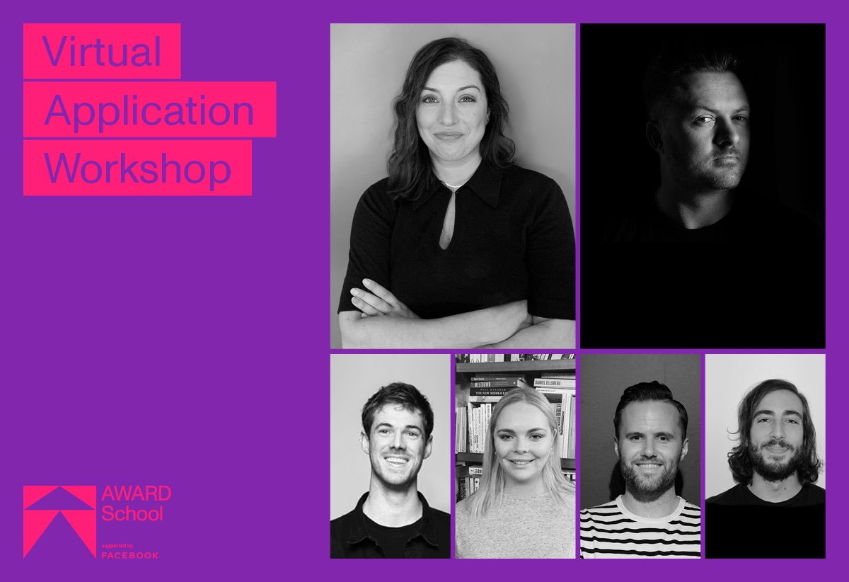 AWARD School 2022 free application workshop: Get insider tips for submitting your best AWARD School application – Tues 28 Sept, 6:30pm-8:30pm