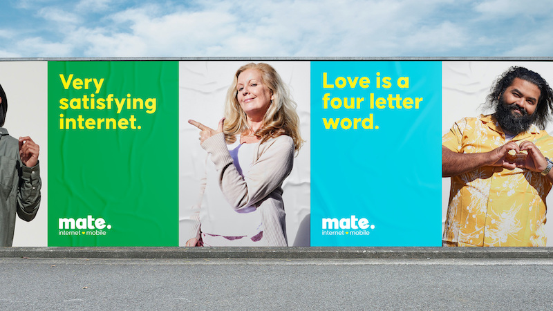 MATE puts customers at the heart of new campaign and brand refresh via Chisel