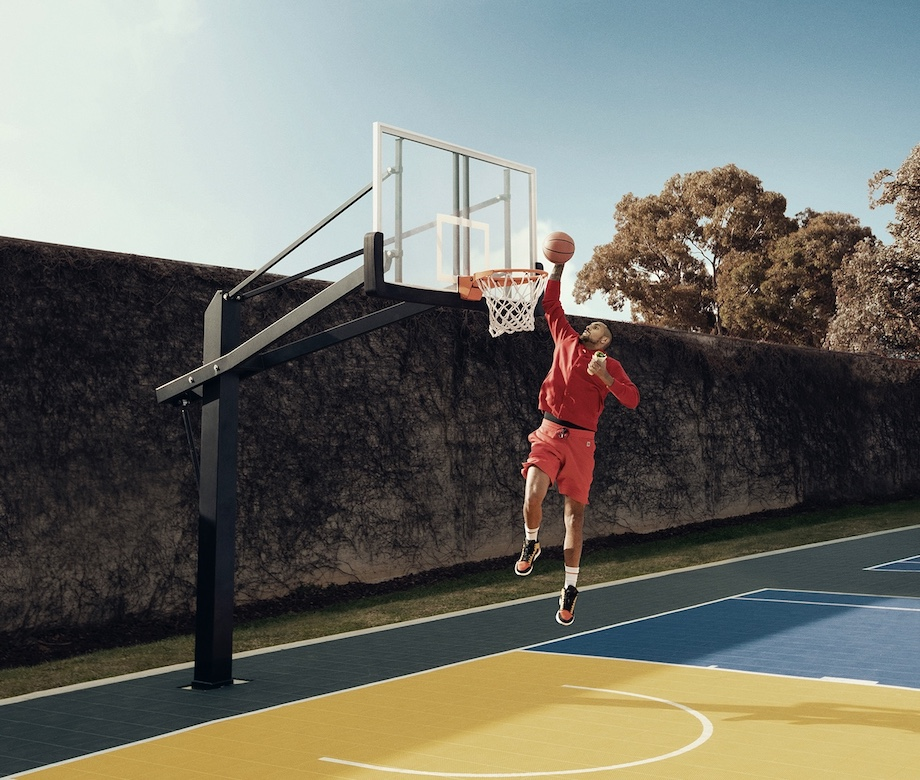 Nick Kyrgios challenges basketball stars to the Old El Paso Slam Dunk #MessFreeChallenge in new global campaign via Thinkerbell
