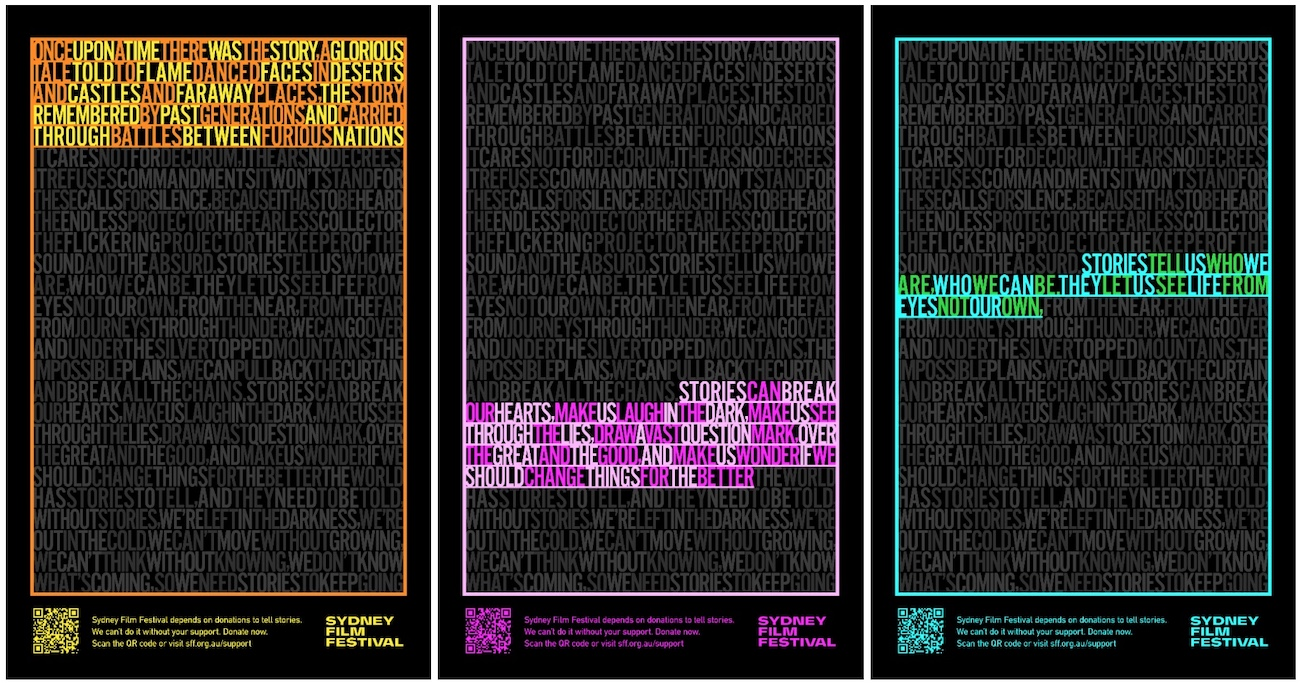 Andy Flemming on the lost art of words and typography for Sydney Film Festival