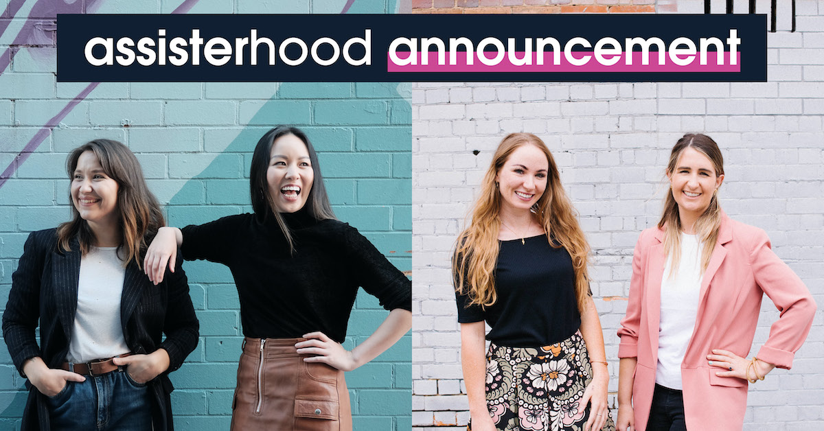 Assisterhood expands and announces new Queensland leads and workshop series