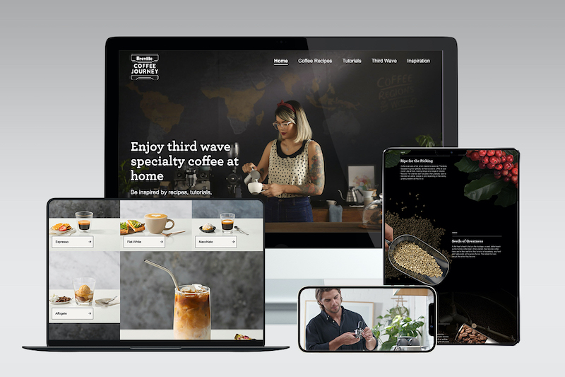 Breville launches global immersive Breville Coffee Journey website via GHO Sydney