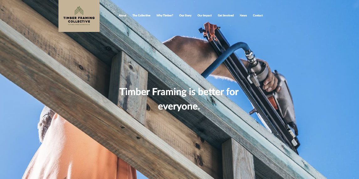 Timber Framing Collective puts timber in the frame in new brand campaign via Engine