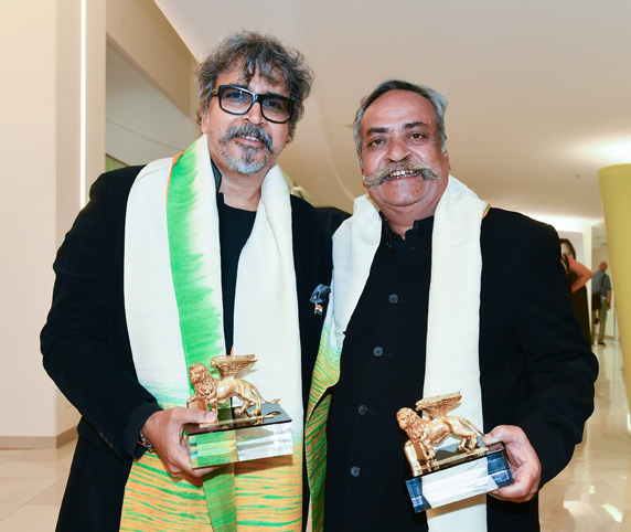 Brothers Piyush and Prasoon Pandey awarded the 2018 Lion of
