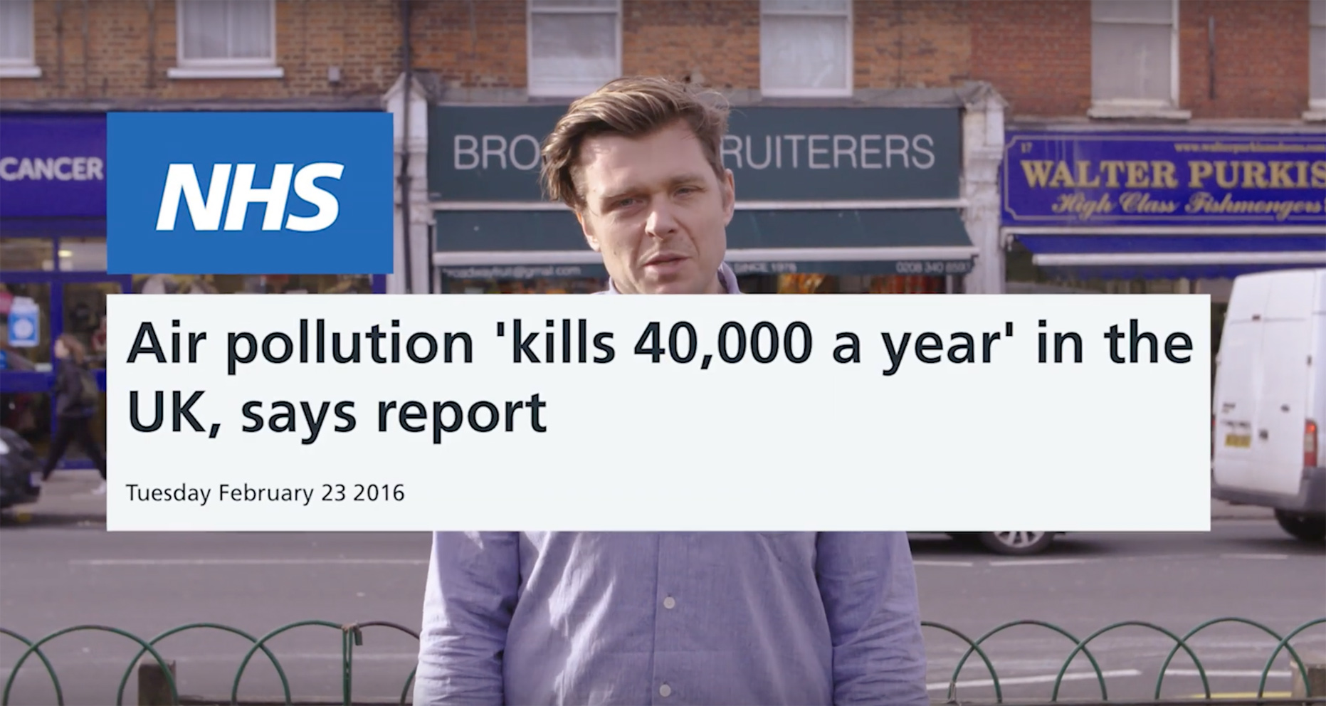 Seen+Noted: AMV BBDO backs crowdfunding campaign to tackle the UK's air pollution crisis