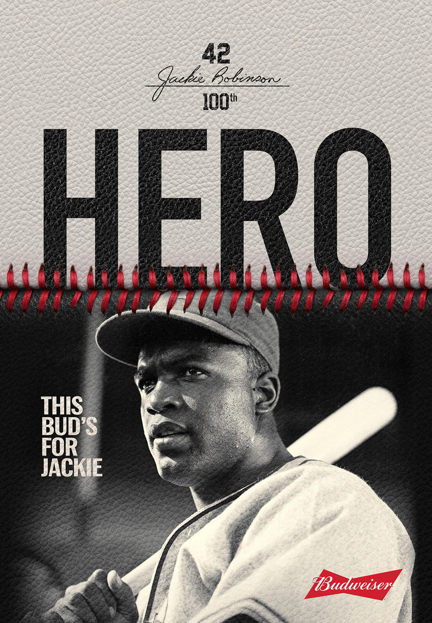 Seen+Noted: Spike Lee launches Budweiser's yearlong tribute to legendary baseballer Jackie Robinson