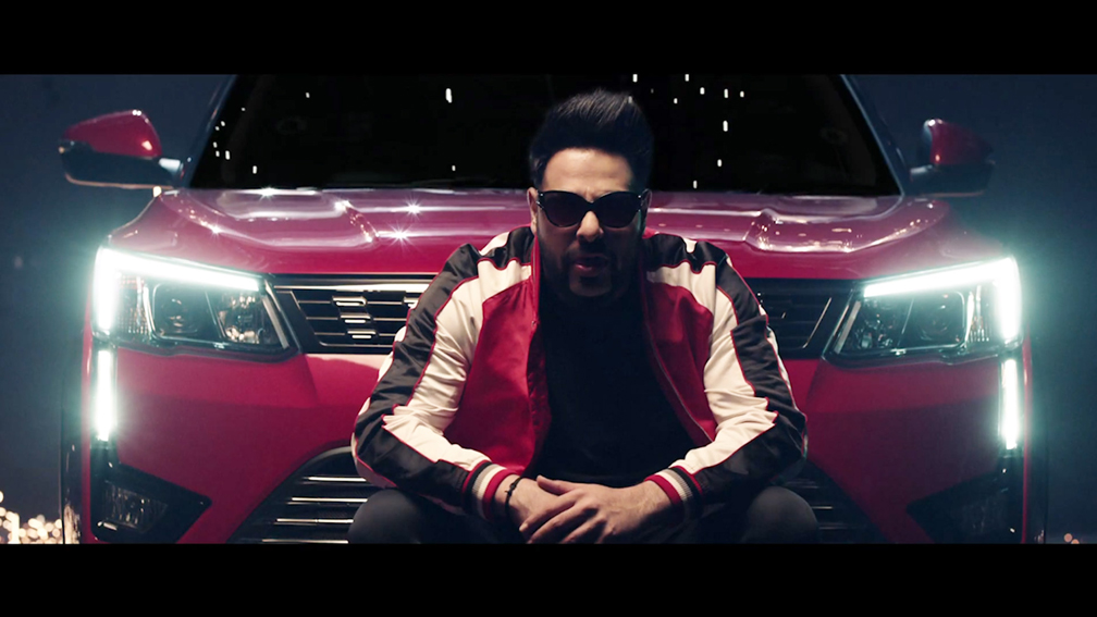 Flying Cursor Mumbai and The Mahindra XUV300 Set The Roads on Fire in a music video with Badshah