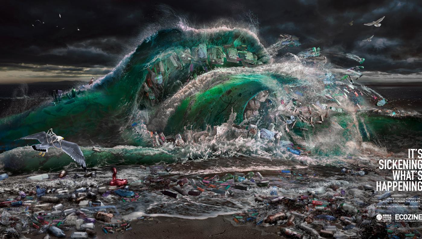 Grey Group, Ecozine and Hong Kong Clean Up raise awareness of the trash tsunami