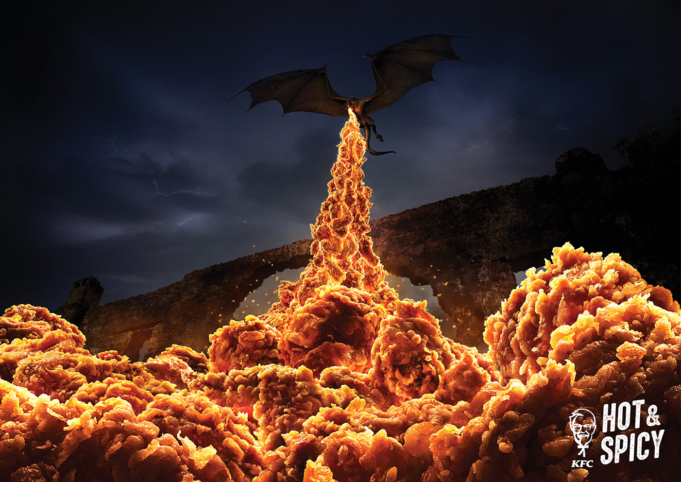 Seen+Noted: KFC 'Hot & Spicy' campaign reignited by Ogilvy Hong Kong to mark the final season of Game of Thrones