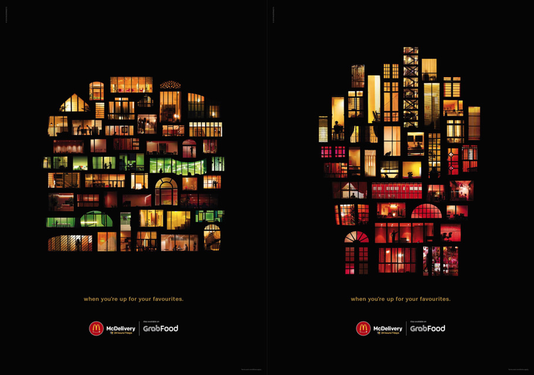 Seen+Noted: DDB Singapore releases new McDelivery work to highlight late night deliveries