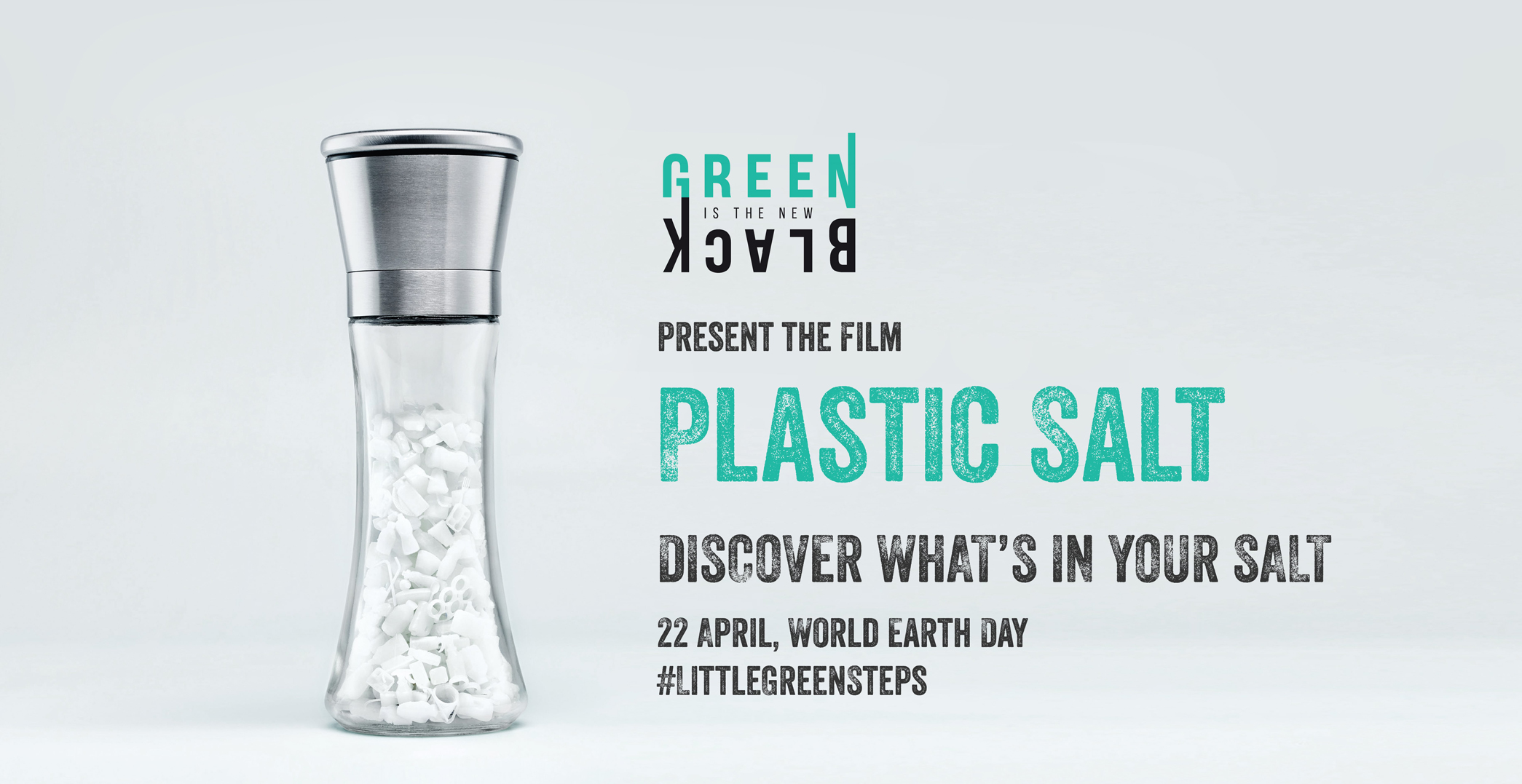 Dentsu Singapore and Green is the New Black highlight the amount of microplastics in Salt for World Earth Day