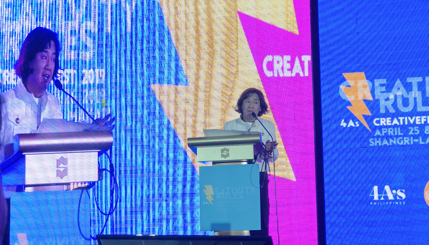 Creativefest in Manila: A packed two days of outstanding presentations and panel discussions