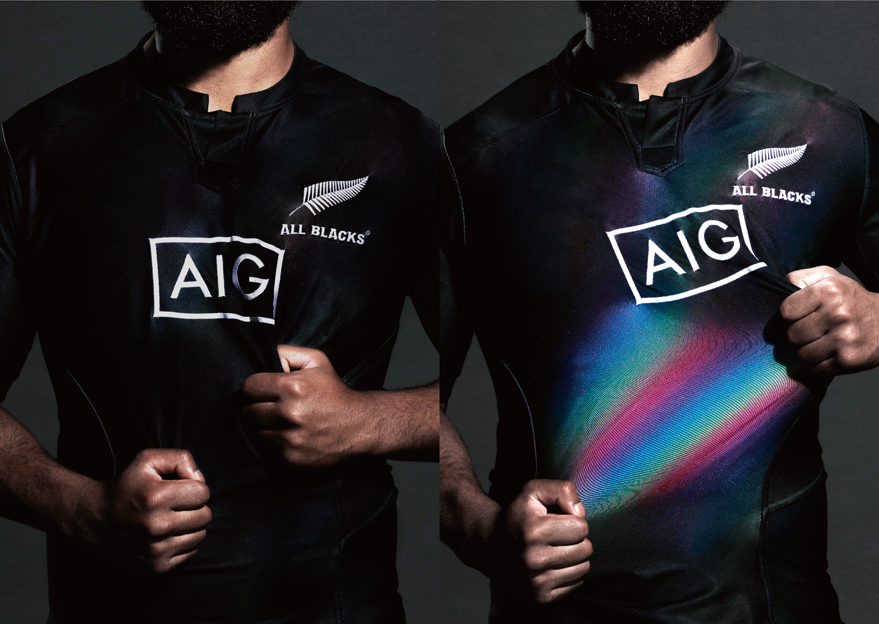 "TBWA\Hakuhodo Tokyo scores 3 Gold and 2 Silver Awards for AIG's ""Pride Jersey"" at 2019 Clio Sports Awards"