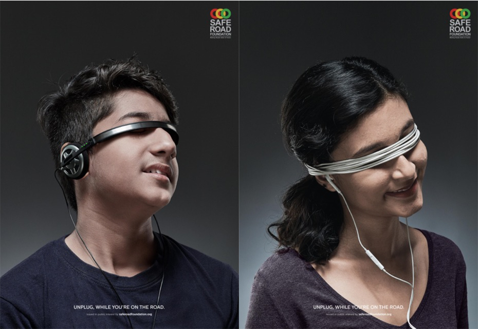 Ogilvy India and Road Safe Foundation urge people to unplug while they're on the road to avoid accidents