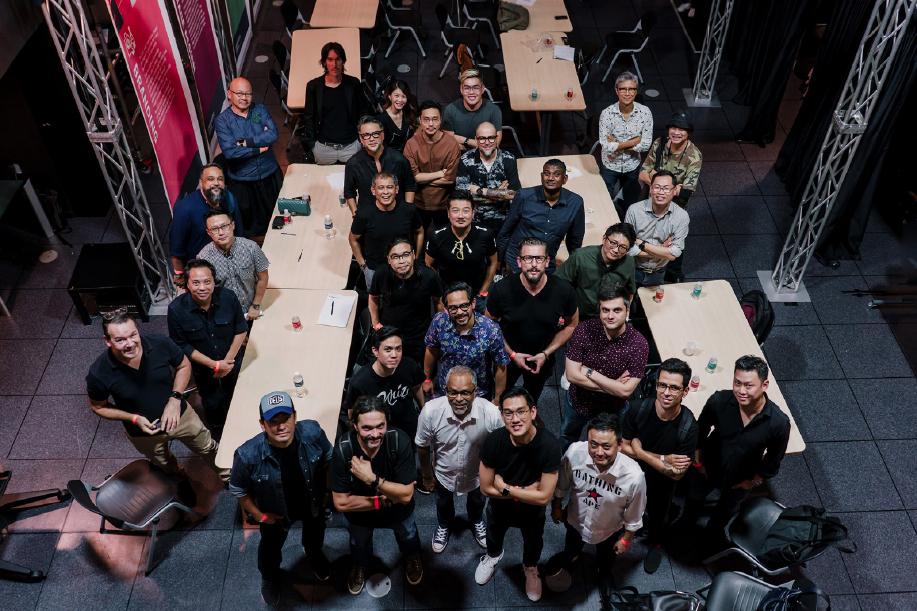 Aspiring creatives and top industry professionals gathered for a fast-paced evening of advice and networking at Portfolio Night 2019 Singapore