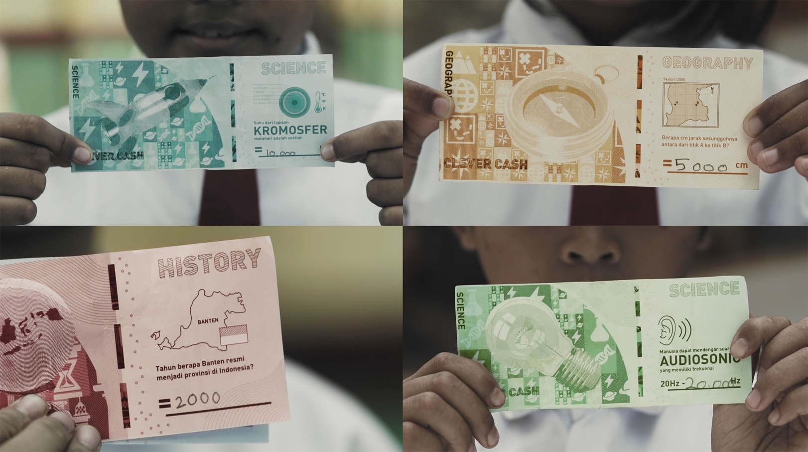 Hakuhodo Indonesia wins country's first ever D&AD Graphite Pencil for Clever Cash campaign