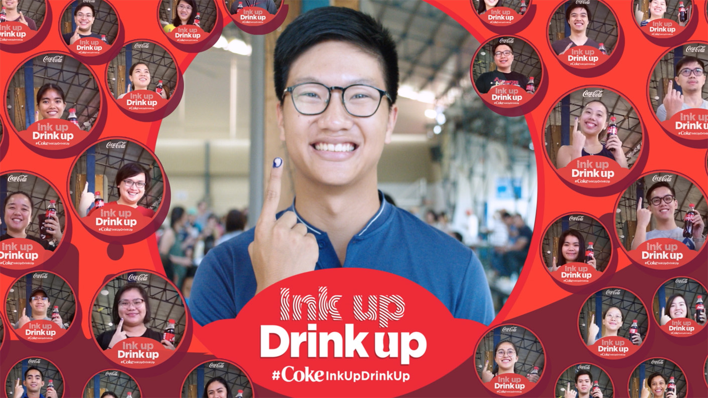 Coca-Cola stages a refreshing way to acknowledge Philippines' first time Voters via Dentsu Jayme Syfu activation