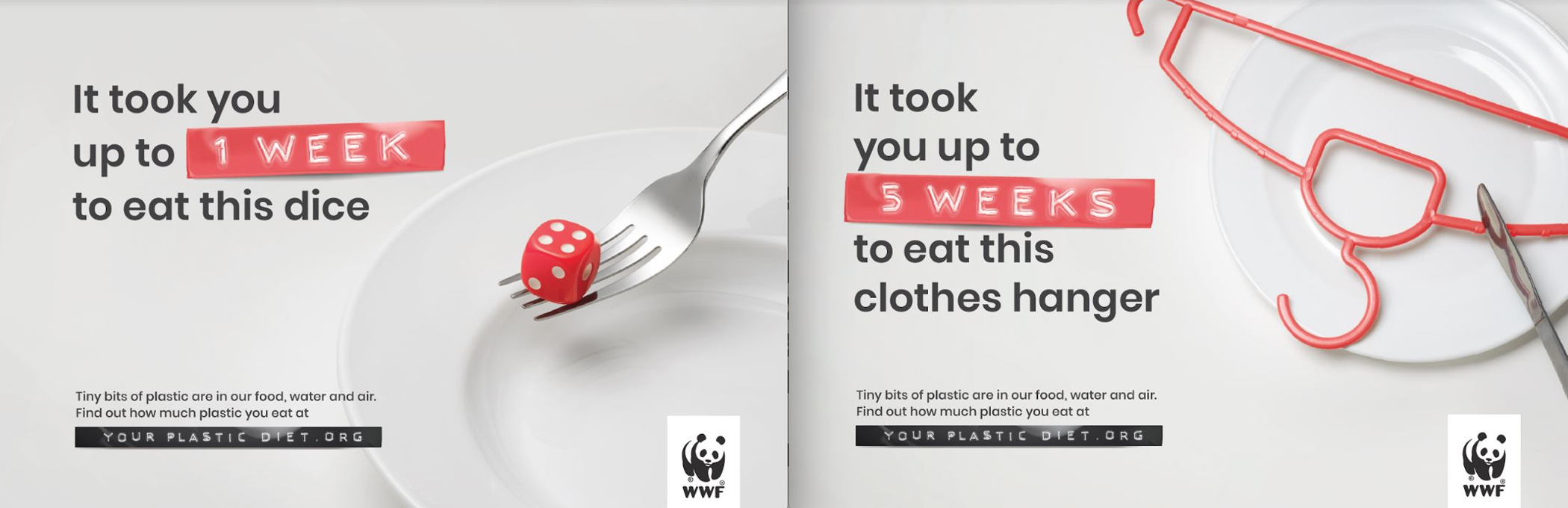 Grey Malaysia launches WWF campaign that reveals plastic ingestion by people could be equating to a credit card a week