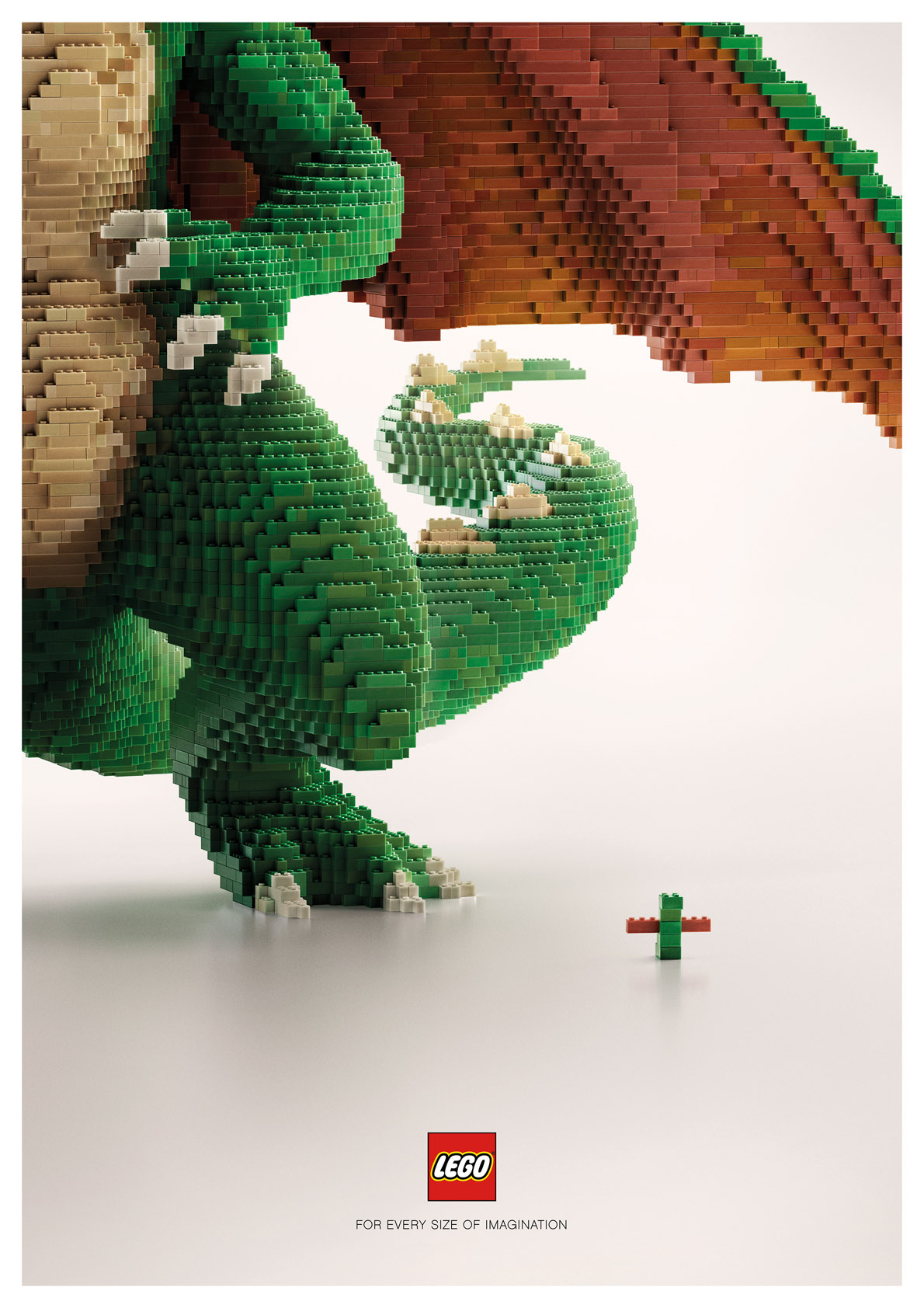 Seen+Noted: Lego is for every size of Imagination