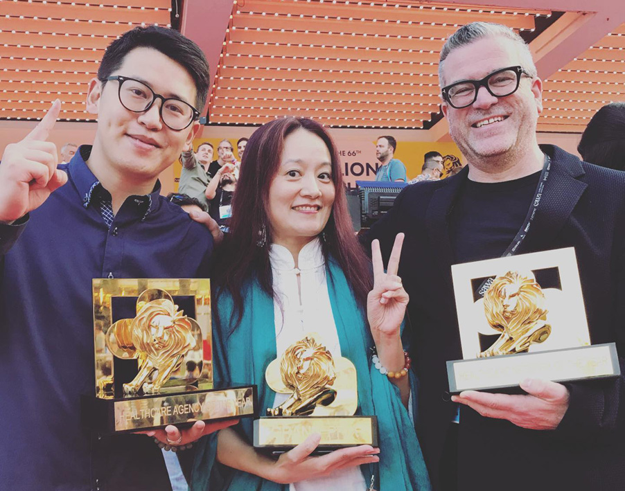 McCann Health Shanghai picks up Pharma Lions Grand Prix and Gold Lion for 'Breath of Life': Also Named Healthcare Agency of the Year