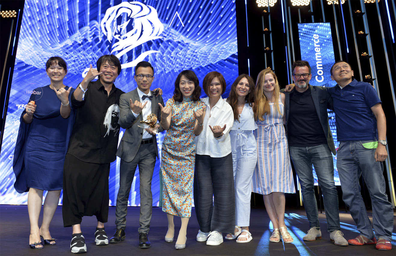 Isobar China Scores Gold Lion and Wunderman Thompson Bangkok + Dentsu Webchutney Bangalore win Bronze in Creative Effectiveness and Creative eCommerce