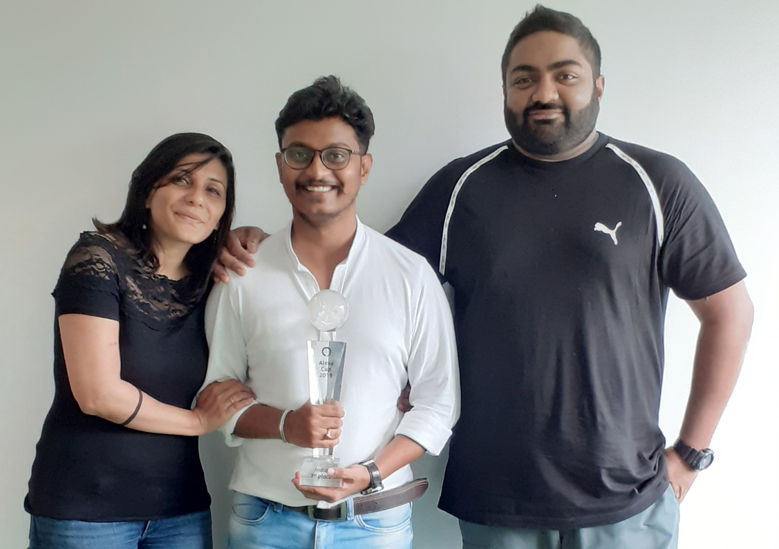 FCB India + Boltd team named Amazon Alexa Cup India champions and now move through to APAC competition