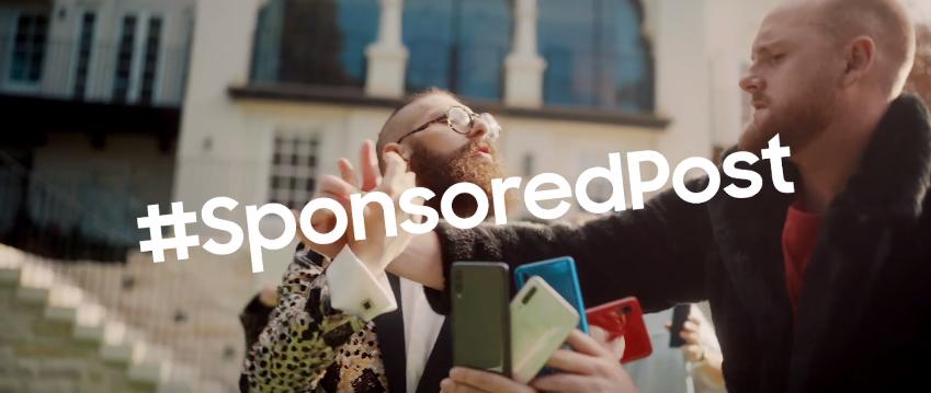 Samsung unveils #SubtlySponsoredPosts video via Leo Burnett Sydney to promote Galaxy A Series