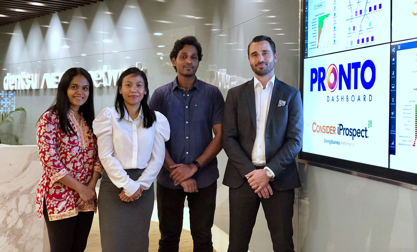 Consider iProspect Malaysia introduces Pronto an AI Business Intelligence Tool