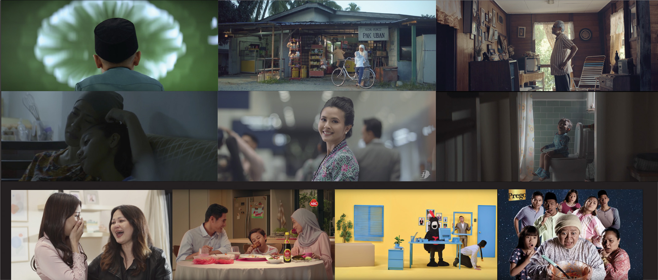 Director's Think Tank Showcases Storytelling Mastery with Eleven Raya Spots This Season