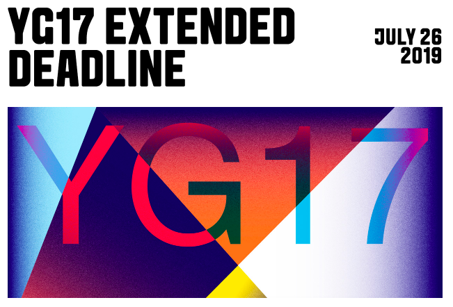 The One Club for Creativity extends the Young Guns 17 final entry deadline to Friday, July 26