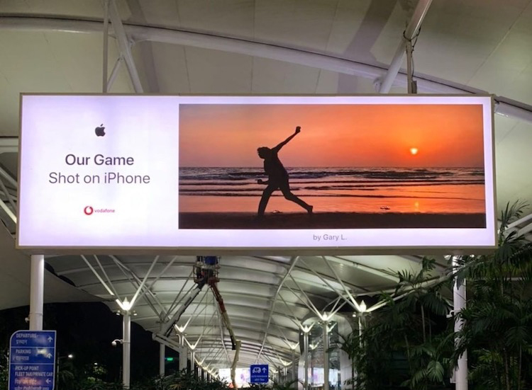 GLP Creative's Gary Land Directs cricket spot For Apple India ~ a New Film Part Of The Shot On iPhone Films and Billboard Series