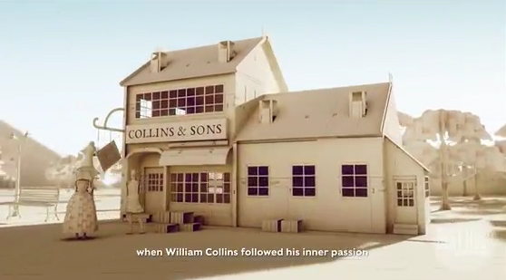 Superunion Singapore creates a 200-year anniversary campaign for Collins Stationery telling the story of the heritage brand entirely through paper