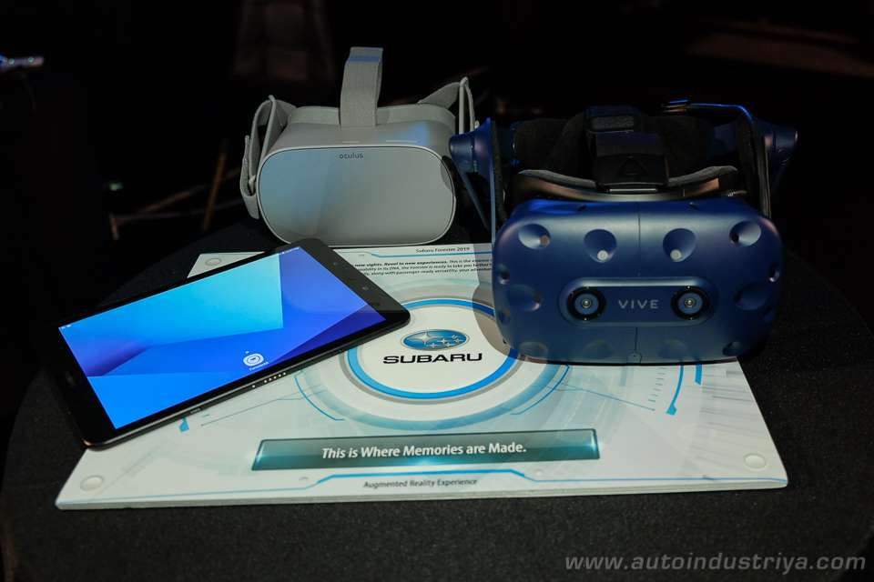 VHQ provides virtual reality and augmented reality experiences in Subaru showrooms