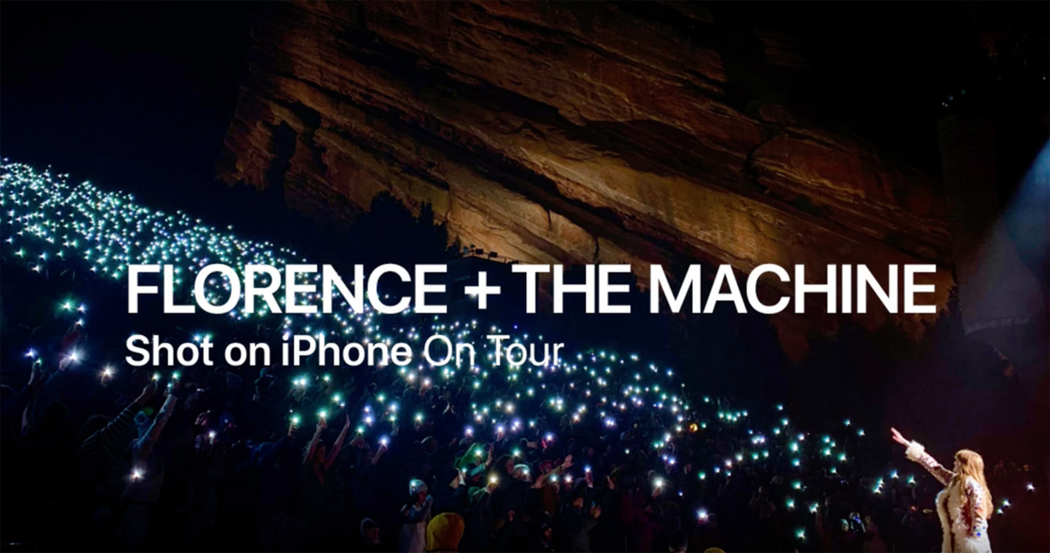 Apple's new Shot on iPhone campaign features a behind the scenes look at 16 artists on tour