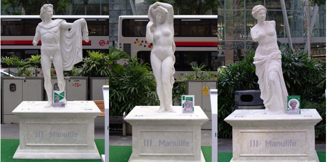 TBWA\Singapore reimagines ancient tragedies in a campaign for Manulife highlighting the topic of insurance protection